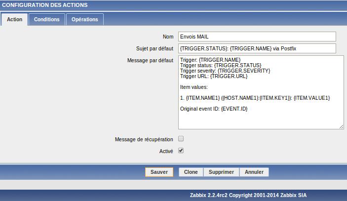 Installer et exploiter Zabbix™ 2 2 4 (Juin 2014)